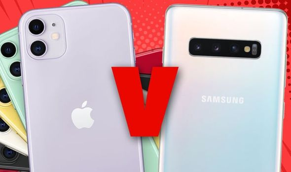 iphone 11 vs samsung s10